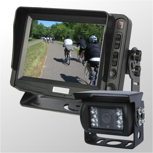 """Professionell IP klassad CCD kamera ink 5"""" display"""