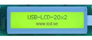 LCD raddisplay 20x2 (OEM)