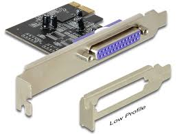 1 port parallel LPT PCI-Express Card + LP bracket