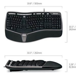 Microsoft Natural Ergonomic Keyboard 4000 USB