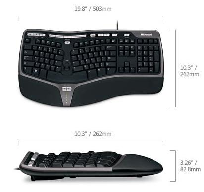 Microsoft Natural Ergonomic Keyboard 4000 USB