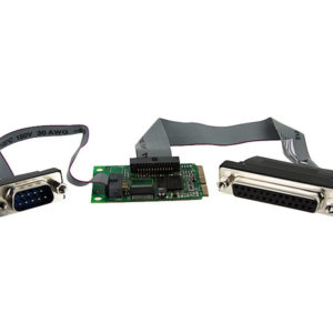 1 parallel & 1 serial port Mini PCI-Express Card