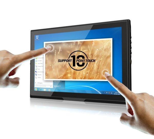 """10,1"""" 10- punkt multitouch display HDMI VGA AV 7-24V DC"""
