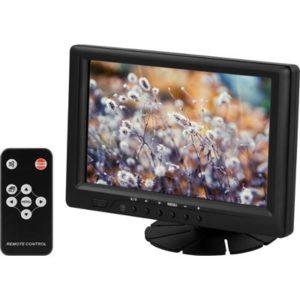 7 tum TFT LCD monitor med ljud, VGA-/USB-/AV-/HDMI-/DVI-portar