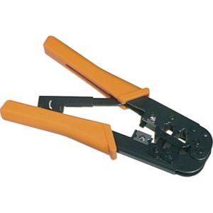 Modularverktyg för 6/8-pin TP-kablage med avbitare/avskalare