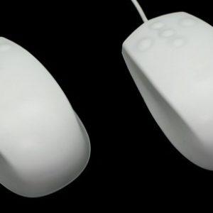 Industriellt pekdon Antibakteriell standard mus IP68 USB Svart