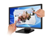"22"" widescreen TFT LCD display med multitouchscreen"