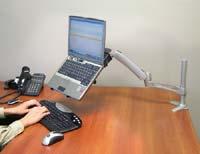 Notebookarm för skrivbordsmontage 4 Leder
