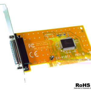 1 paralell port PCI 32 bit