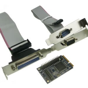 2 serial port / 1 parallell port Mini PCI-Express Card