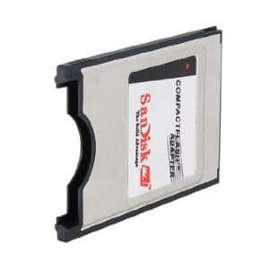 SANDISK Compact flash till PC Card typ II
