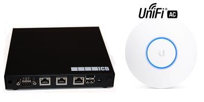 PAKET - APU 2D4 Firewall, 3x gigabit + 1x Unifi AP AC Lite