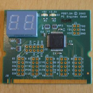 Mini PCI postcode testkort