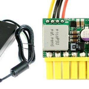 Power kit med 80W nano PSU och AC/DC-omvandlare