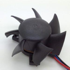 Flat surface mount ball bearing fan 5 cm 12V fan