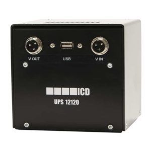 ICD UPS12120 FordonsUPS, 6-30V in, 6-24V ut, 5Ah