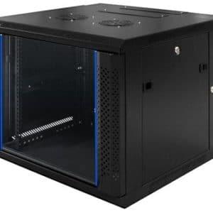 "TOTEN 19"" wallmount case 6U 600X600 black"