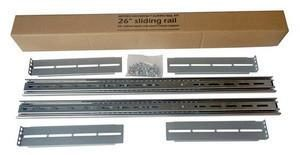 Universal Rail Slide Kit 26tum, Fits most Chassis 1U, 550-1000mm