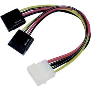 Adapter 4-PIN Molex till 2st SATA