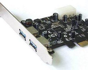 STLab USB 3.0 2p Kontrollerkort PCI-E 1x