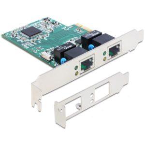 Delock Dual Gigabit PCI-e kort